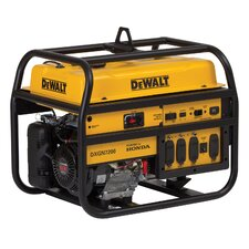 7,200 Watt Professional Generator with Honda Recoil/Electric Start