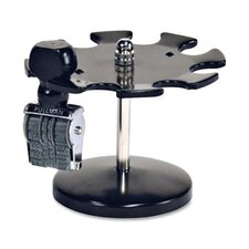 Stamp Holder, Holds Up to 8 Stamps, Metal