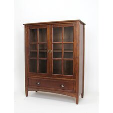 "Traditional 47"" Barrister Bookcase"