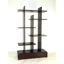 "Modern Skyline 65"" Accent Shelves"