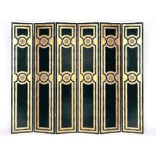 "48"" x 96"" Classic Medallion 6 Panel Room Divider"