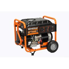 Portable 7,500 Watt Generator with Electric Start