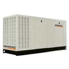 80 Kw Liquid-Cooled Single Phase 120/240 V Natural Gas Standby Generator with CSA, and EPA Compliance in Aluminum