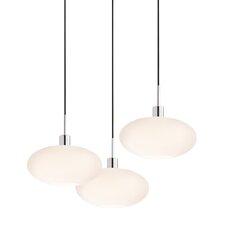 3 Light Grand Oval Pendant