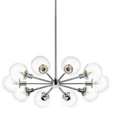 Orb 10 Light Radial Pendant