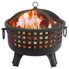 Garden Lights Savannah Wood Burning Fire Pit