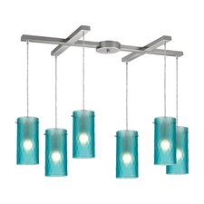 Synthesis 6 Light Kitchen Island Pendant