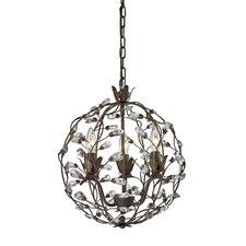 Sagemore 3 Light Globe Pendant