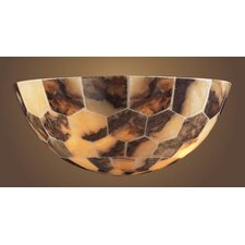 Imperial Granite Mosaic  Wall Sconce in Bronze