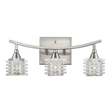 Matrix 3 Light Bathroom Vanity Light