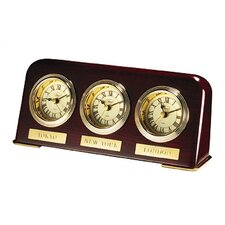Multi Zone Desk Top Clock