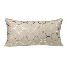 Urban Loft Foil Tile Polyester Lumbar Pillow