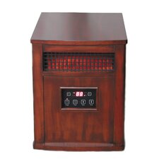 Portable Electric Infrared Cabinet Heater with Programmable Timer