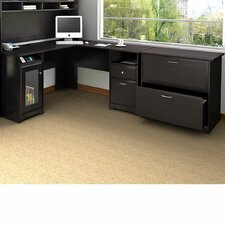 Cabot L-Shape Executive Desk Office Suite