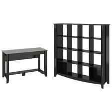 Aero 2-Piece Standard Desk Office Suite