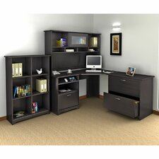 Cabot 3-Piece Corner Desk Office Suite