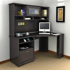 Cabot Corner Computer Desk with Hutch