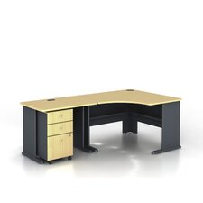 Series A L-Shaped Corner Desk Office Suite