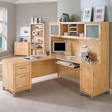 "Somerset Collection 70"" Desk Home Office Suite"