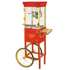 Vintage 6 Oz. Circus Cart Popcorn Maker in Red