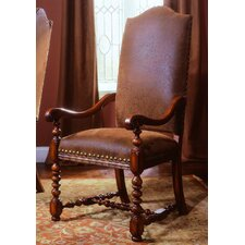Waverly Place Upholstered Back Arm Chair (Set of 2)