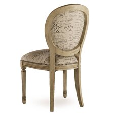 Melange Felicity Accent Fabric Side Chair