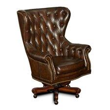 Leather Tilt Swivel Executive Chair