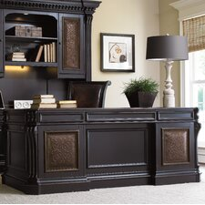 Telluride Executive Desk with Keyboard Tray