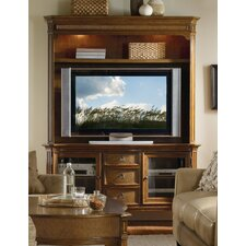 Windward TV Stand with Hutch