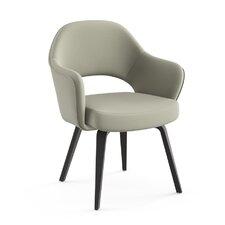 Saarinen Executive Arm Chair with Wood Leg