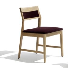 Marc Krusin Armless Side Chair in Natural Oak