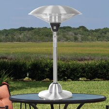 Stainless Steel Tabletop Electric Halogen Patio Heater