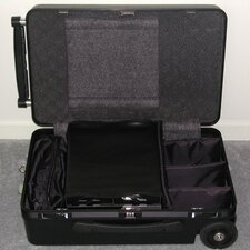"Porter Case II Beauty:  8"" H x 22"" W x 14"" D  (outside)"
