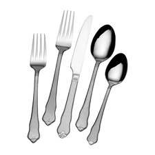20 Piece Centennial Frost Flatware Set