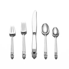 Sterling Silver Royal Danish 46 Piece Flatware Set