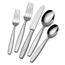 Gia 20 Piece Forged Flatware Set