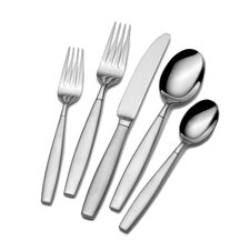 Gia 42 Piece Dinner Flatware Set