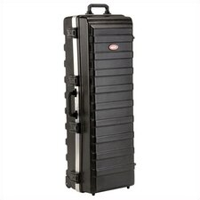 "Rail-Pack Utility Case: 14 5/8"" H x 49 1/2"" W x 17 1/4"" D (outside)"