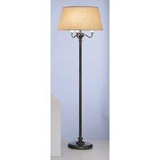 Abbey Bronze Four Light Floor Lamp in Victorian Bronze
