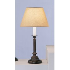 """Abbey Bronze 25"""" H Table lamp with Empire Shade"""
