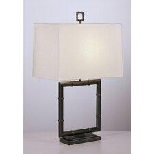 "Jonathan Adler Meurice 26.75"" H Table Lamp with Rectangular Shade"