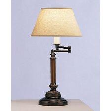Abbey Bronze  Swing Arm Desk Lamp in Victorian Bronze