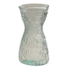 Mediterranean Wave 40-ounce Ice Clear Decanter