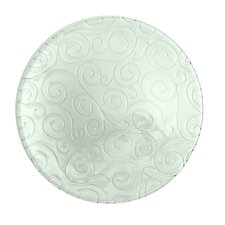 Mediterranean Wave 13-inch Ice Clear Charger (Set of 4)