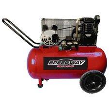 20 Gallon 2 HP Electric Cast Iron Belt Drive Compressor