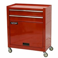 """24"""" Wide 2 Drawer Tool Chest/Cabinet Combo"""