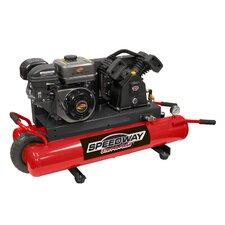 9 Gallon 6.5 HP Gas Wheelbarrow Air Compressor