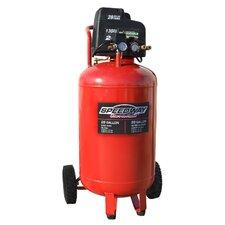 28 Gallon 2 HP Oil Free Vertical Compressor