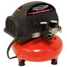 1 Gallon 0.3 HP Pancake Compressor and Inflation Kit