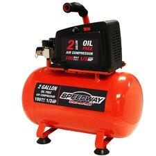 2 Gallon 0.5 HP Oil Free Air Compressor